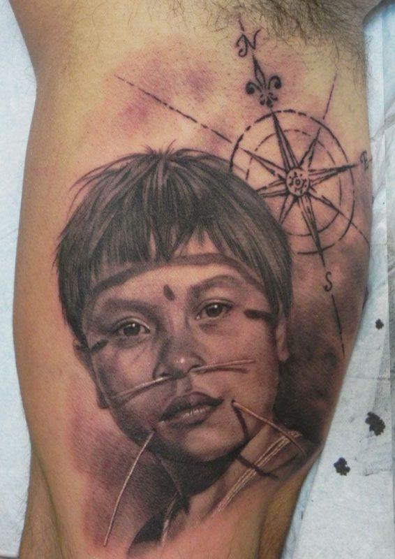 xavi garcia boix tattoo retrato realismo portrait realism tatuaje valencia diversos random aventura aventure