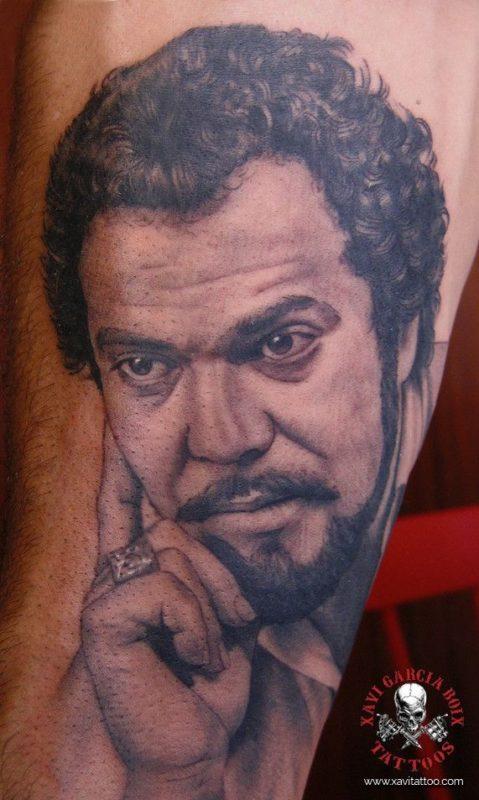 xavi garcia boix tattoo retrato realismo portrait realism tatuaje valencia familia family tatuajes juan
