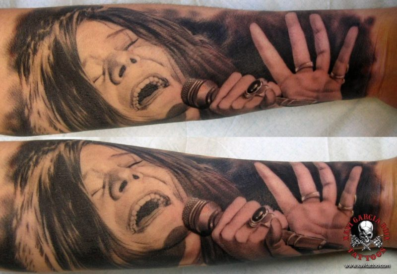 xavi garcia boix tattoo retrato realismo portrait realism tatuaje valencia tatuajes personajes famosos famous characters JANIS-JOPLIN-02