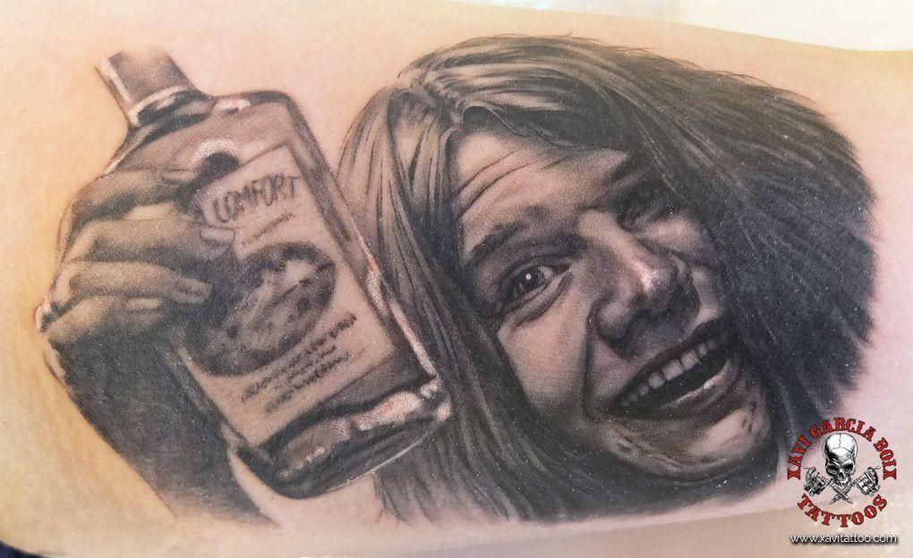 xavi garcia boix tattoo retrato realismo portrait realism tatuaje valencia tatuajes personajes famosos famous characters janis joplin 01