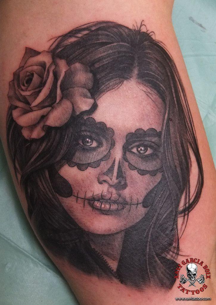 xavi garcia boix tattoo retrato realismo portrait realism tatuaje valencia tatuajes personajes famosos famous characters penelope cruz
